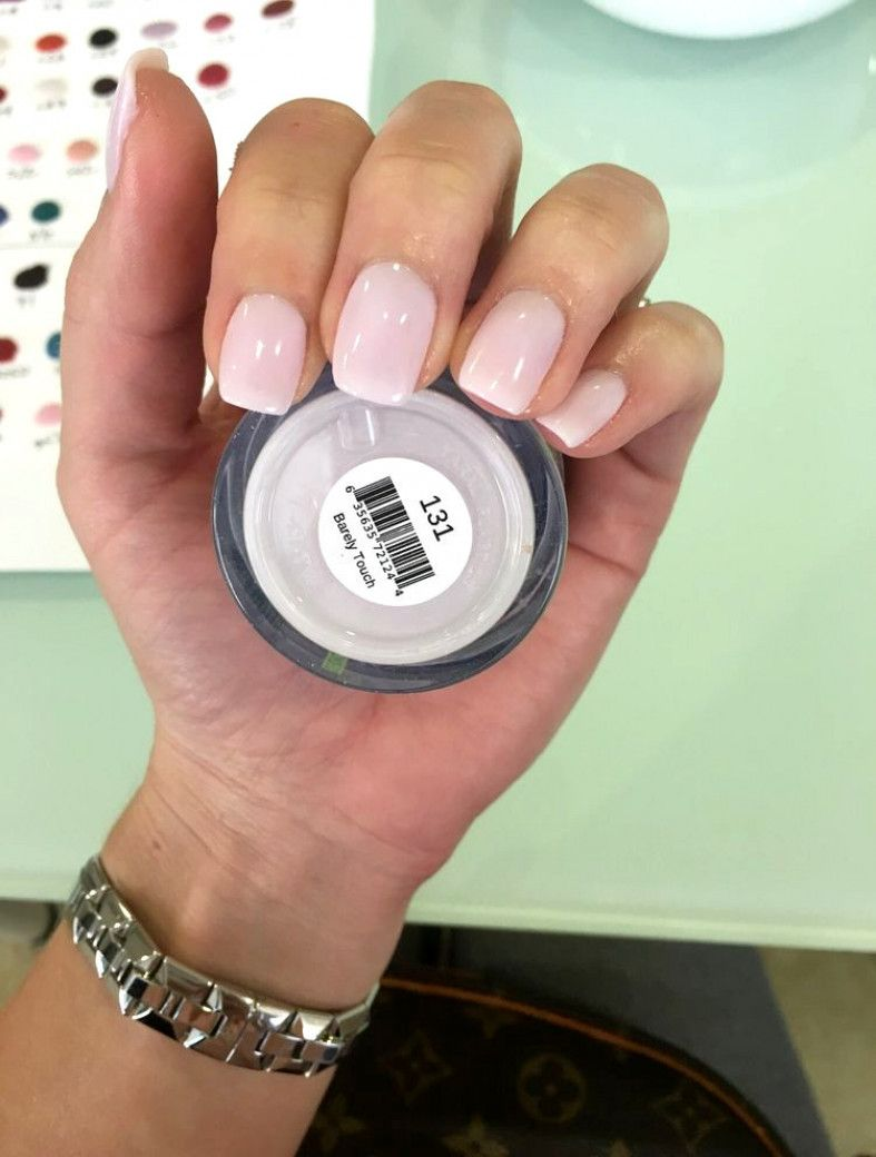 The Wedding Manicure The Beauty Of The Bride Is In The Smallest Details With Images Sns Nails Colors Dipped Nails Powder Nails