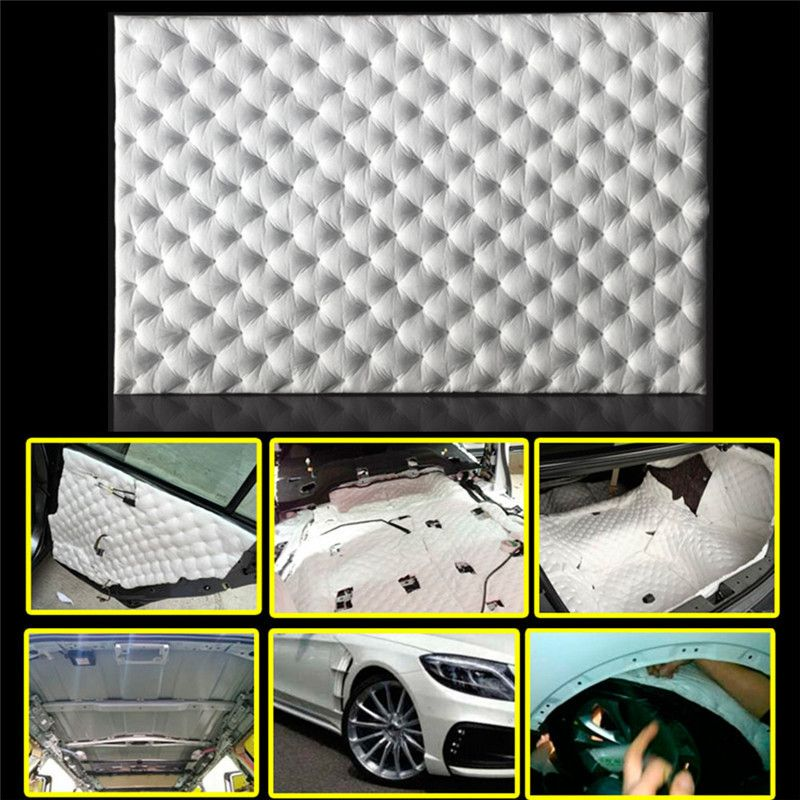 Car Shield Prices >> Best Price 8050cm Car Sound Insulation Foam Firewall Sound Deadener
