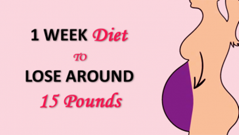 Follow This One Week Diet Plan To Lose 15 Lbs Naturally At Home