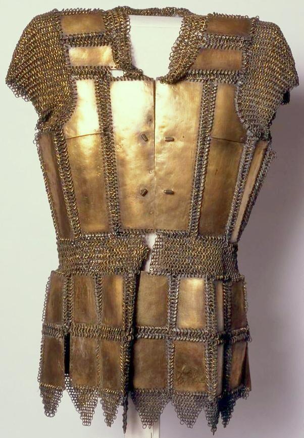 Moro (Philippine, Mindanao) mail and plate armor (kurab-a-kulang ...