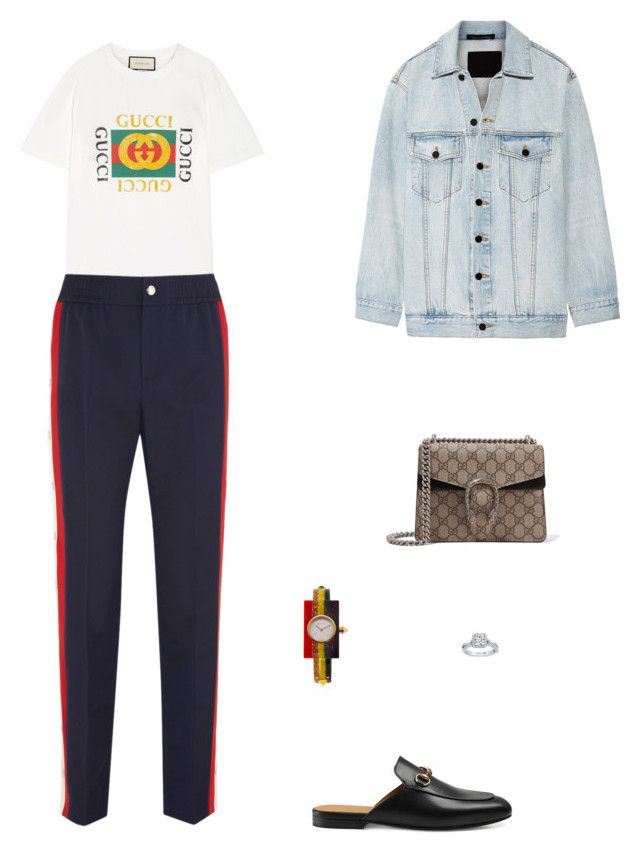 """""""Street Style"""" by julieselmer on Polyvore featuring Gucci and Alexander Wang"""