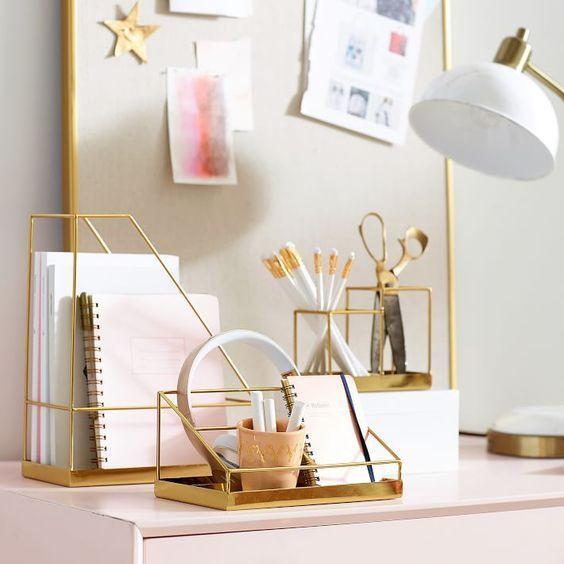 Silhouette Desk Accessories, Pencil Cup