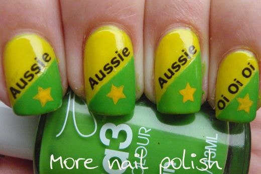 Aussie Aussie Aussie Maquillage Et Tatouages Special