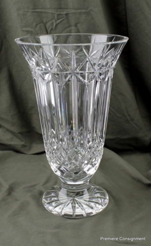 Waterford Crystal Balmoral Vase Ebay For Sale Now On Ebay Check