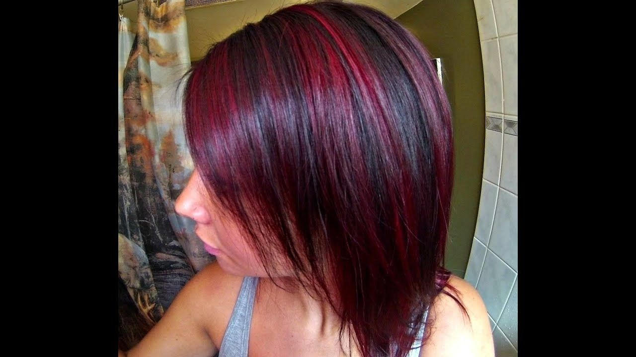 Perfect Hair Highlight Kaise Kare Images Hair Highlights Red Hair With Highlights Red Highlights In Brown Hair