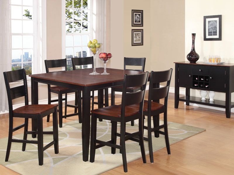 Charles Black Gathering Table Collection  Furniture  Pinterest Impressive 8 Pc Dining Room Set Inspiration Design