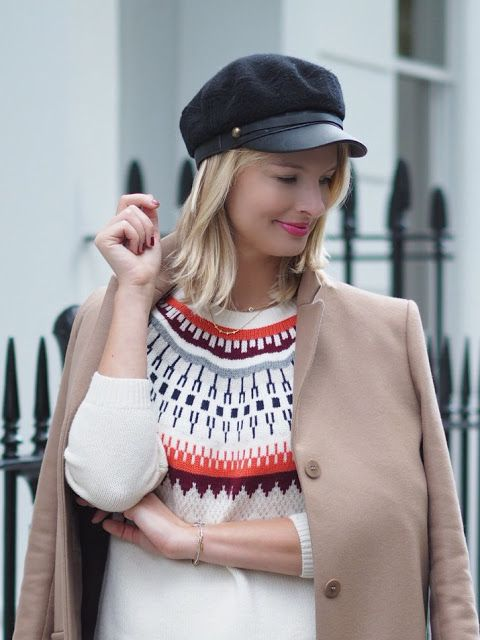 London Blogger Chrissabella in our Edith jumper, a seriously ...
