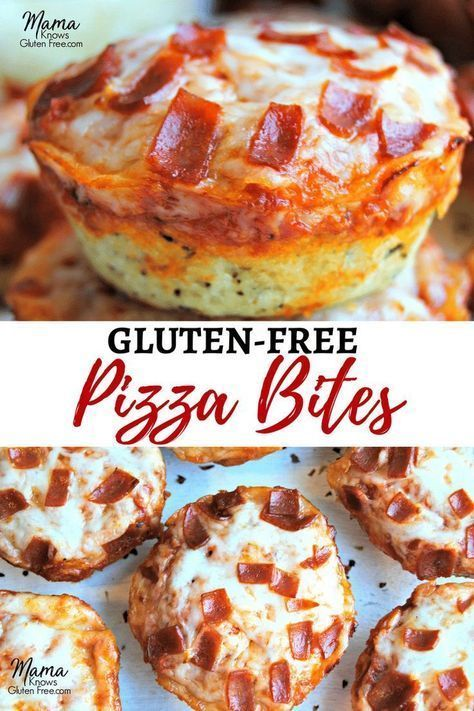 Photo of Gluten-Free Pizza Bites {Dairy-Free Option} – Gluten-Free Go…