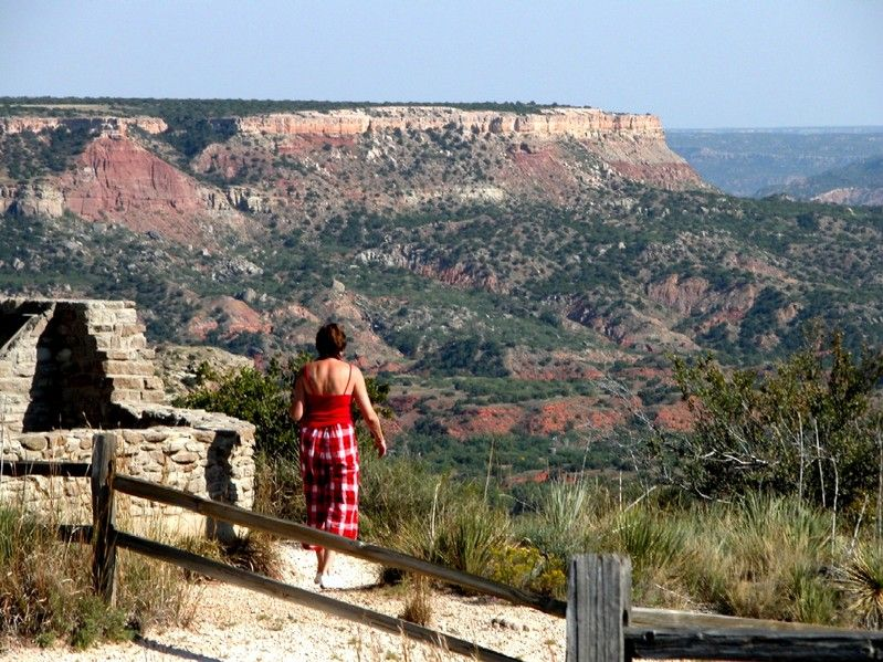 Palo Duro Canyon South Of Amarillo Texas My Travel