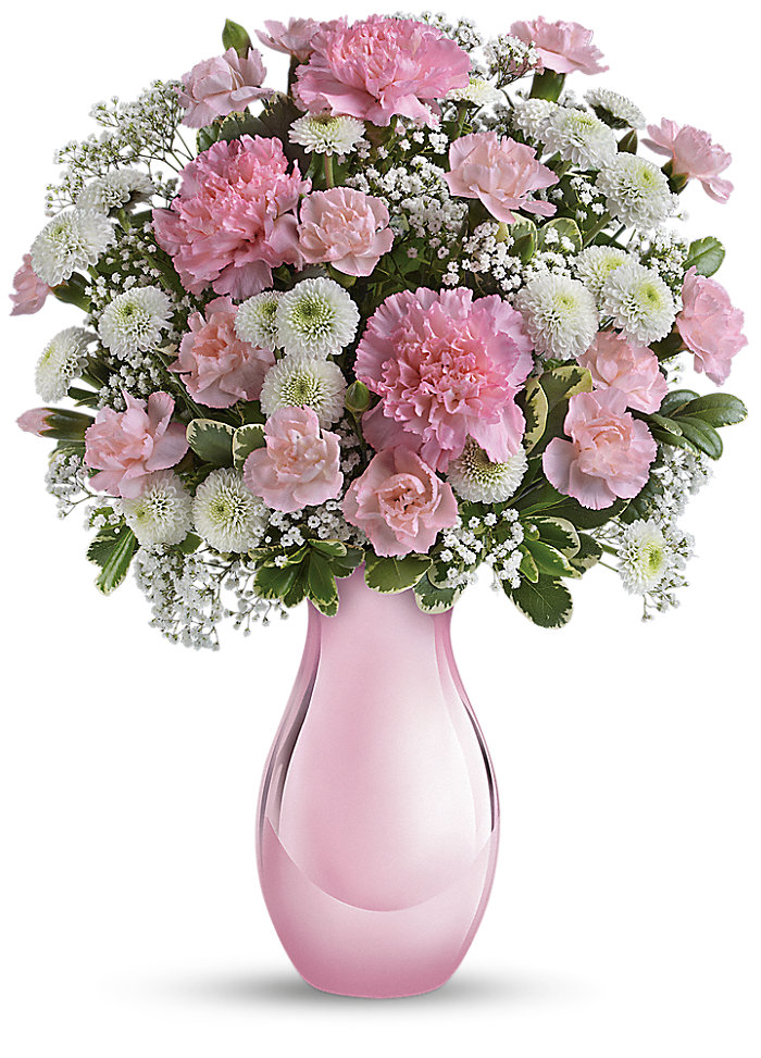 Teleflora's Radiant Reflections Bouquet ดอกไม้, การจัดดอกไม้