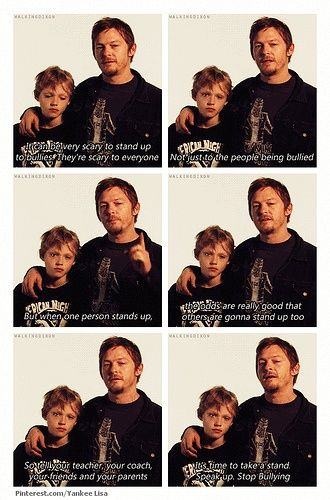 Image result for norman reedus bullying