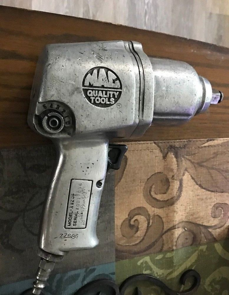 Mac Aw234 Air Impact Gun 1 2 Drive Loaded With Great Condition Ebay Link