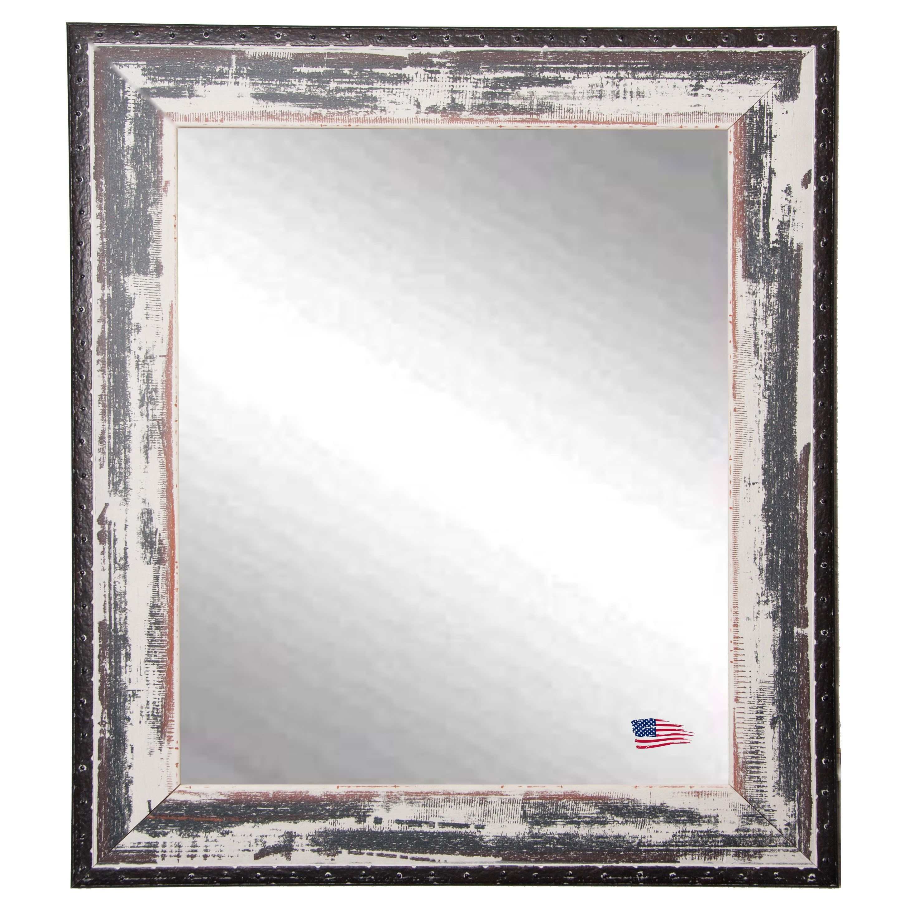 American Made Rayne Rustic Seaside Vanity Wall Mirror (24\