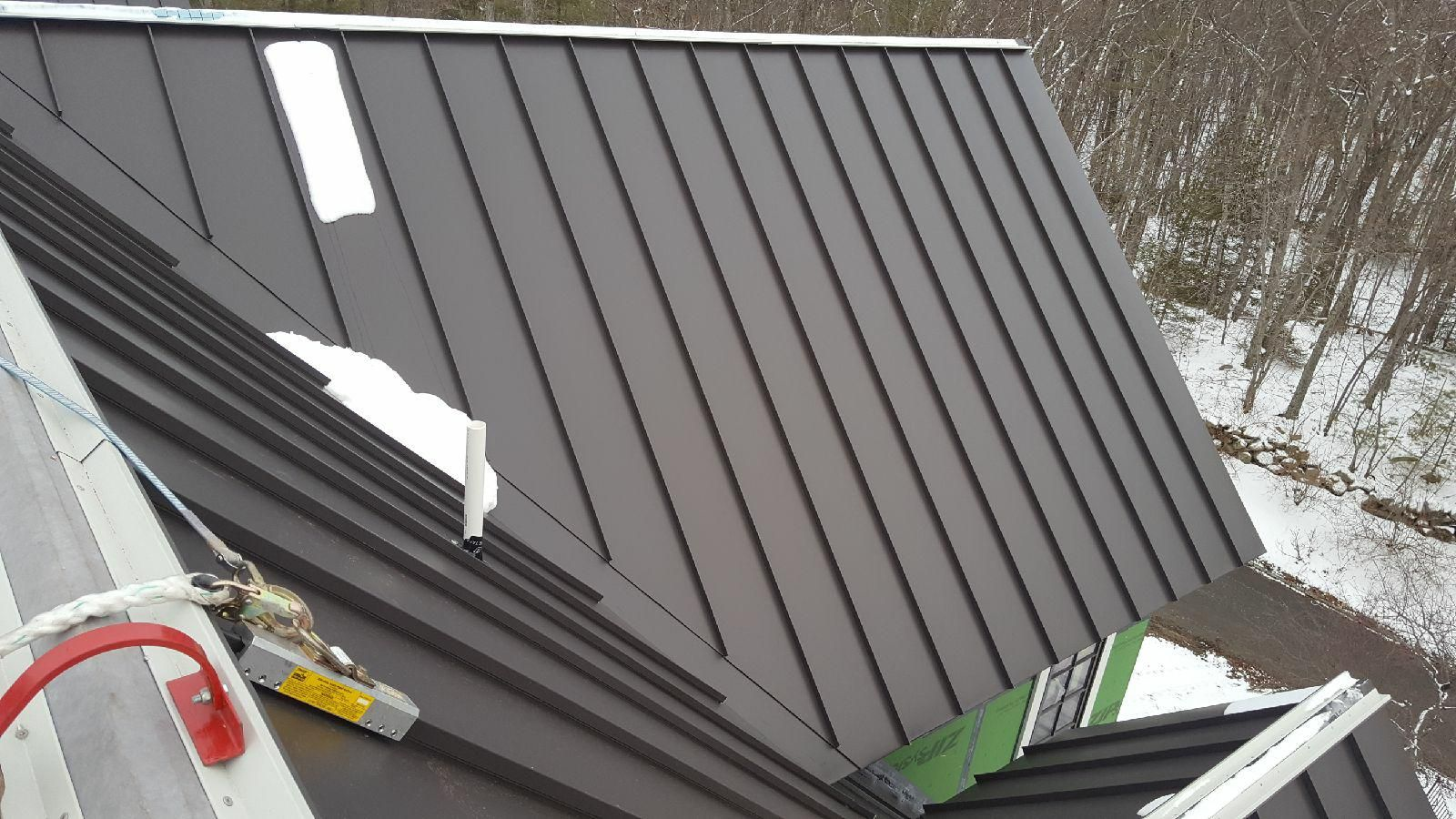 Standing Seam Classic Metal Roofs Llc Stow Ma Standing Seam Metal Roof Standing Seam Metal Roof