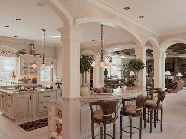 French Colonial Kitchen Design Ideas With Emblematic Arches And Intricate Woodwork Great Layout Luxury Kitchen Design