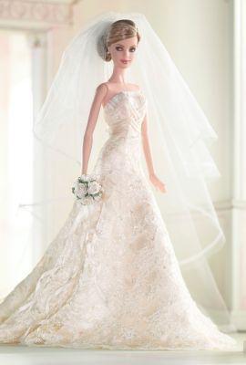 Carolina Herrera Bride Barbie® Doll | DOLLS | Vestido de novia