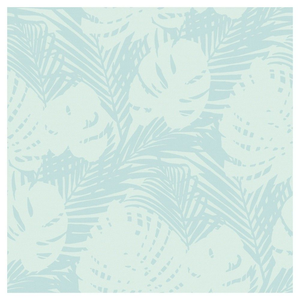 Devine Color Tropical Leaves Peel Stick Wallpaper Peel And Stick Wallpaper Tropical Leaves Wallpaper