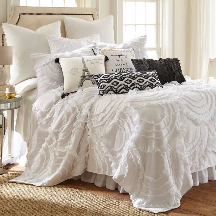 Levtex Home Allie Quilt Set In White Bed Bath Beyond For Our