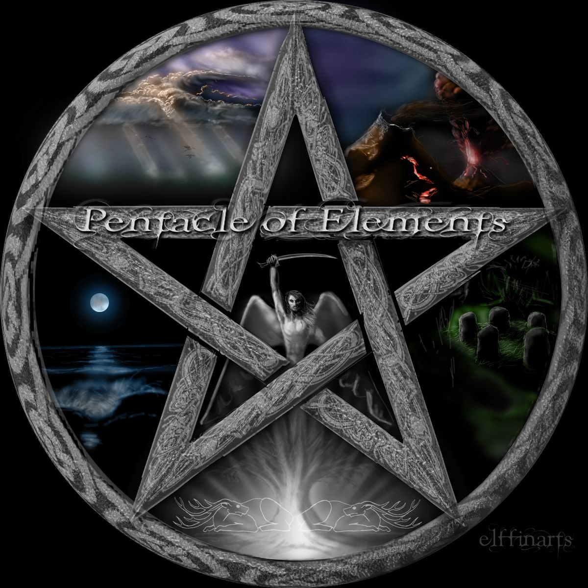 Pentagram art wiccan pentacle ideas for the house pinterest pentagram art wiccan pentacle biocorpaavc Images