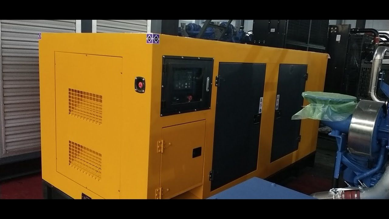 New 150kw Silent Diesel Genset Made By Starlight Power In 2020 Power Generator Diesel Generators Diesel