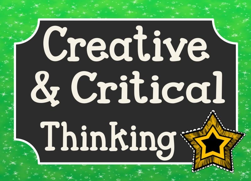 Creative and Critical Thinking Skills Pinterest Board | Critical thinking, Teaching critical thinking, Learning strategies