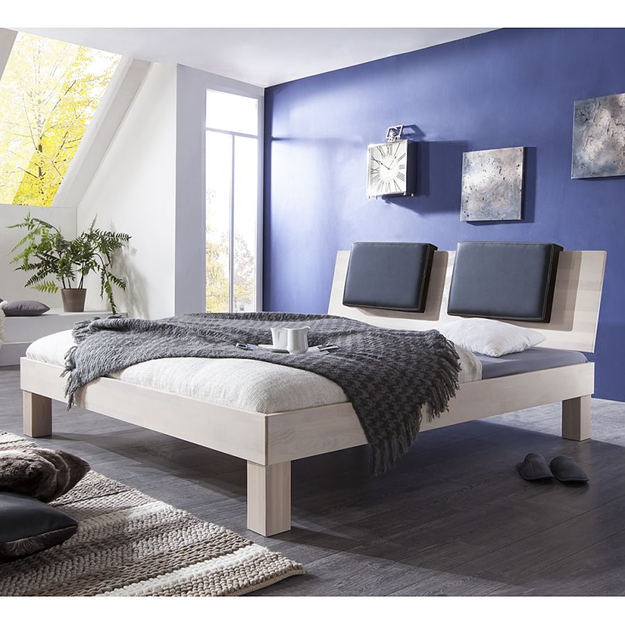 Massivholzbett Max (optional Bettkästen) (mit Bildern