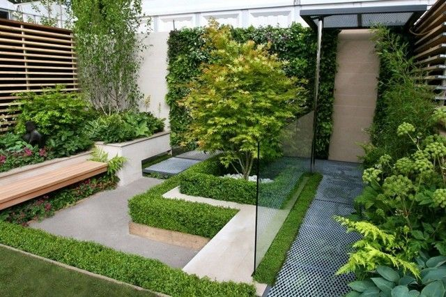 Petit jardin moderne : visite d\'oasis en 55 photos