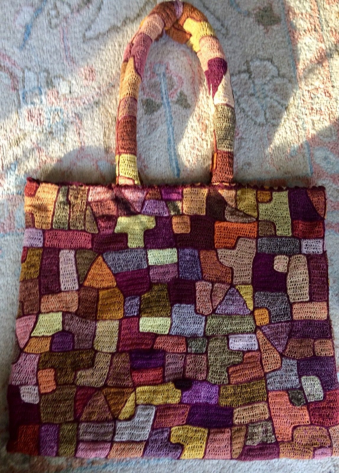 sophie digard handbag made in madagascar from 100 linen purchased in seattle and never [ 1148 x 1600 Pixel ]