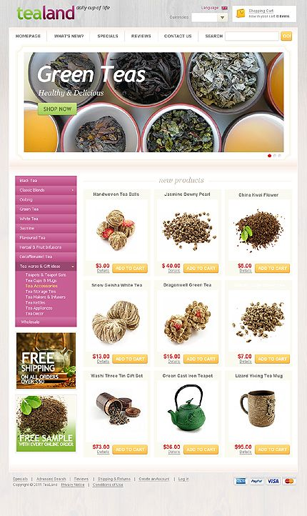 This is a great OsCommerce 2.3 store layout in my opinion