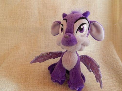Neopets Purple Faerie Plush 2008 Stuffed Animal Toy Purple Dragon
