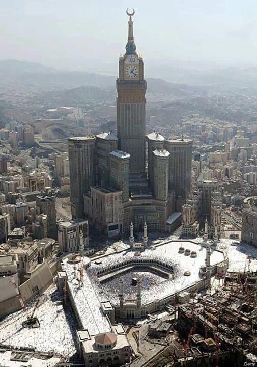 Mecca The Kingdom Of Saudi Arabia Famous Buildings Masjid Mecca