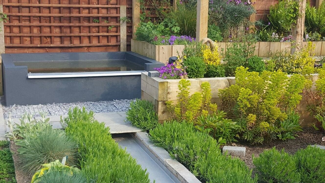 A stunning garden instillation we created in south ...