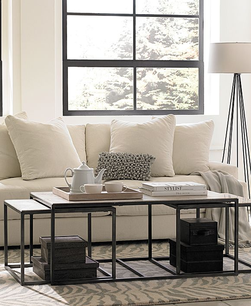 Best bargain buys 10 stylish sofas under 1000 apt - Best fabric for living room furniture ...