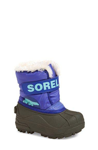SOREL  Snow Commander  Boot (Baby 0ea722189
