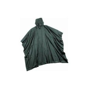 Stearns Eco Dry Rain Poncho Green Bug Out Bag Bug Out