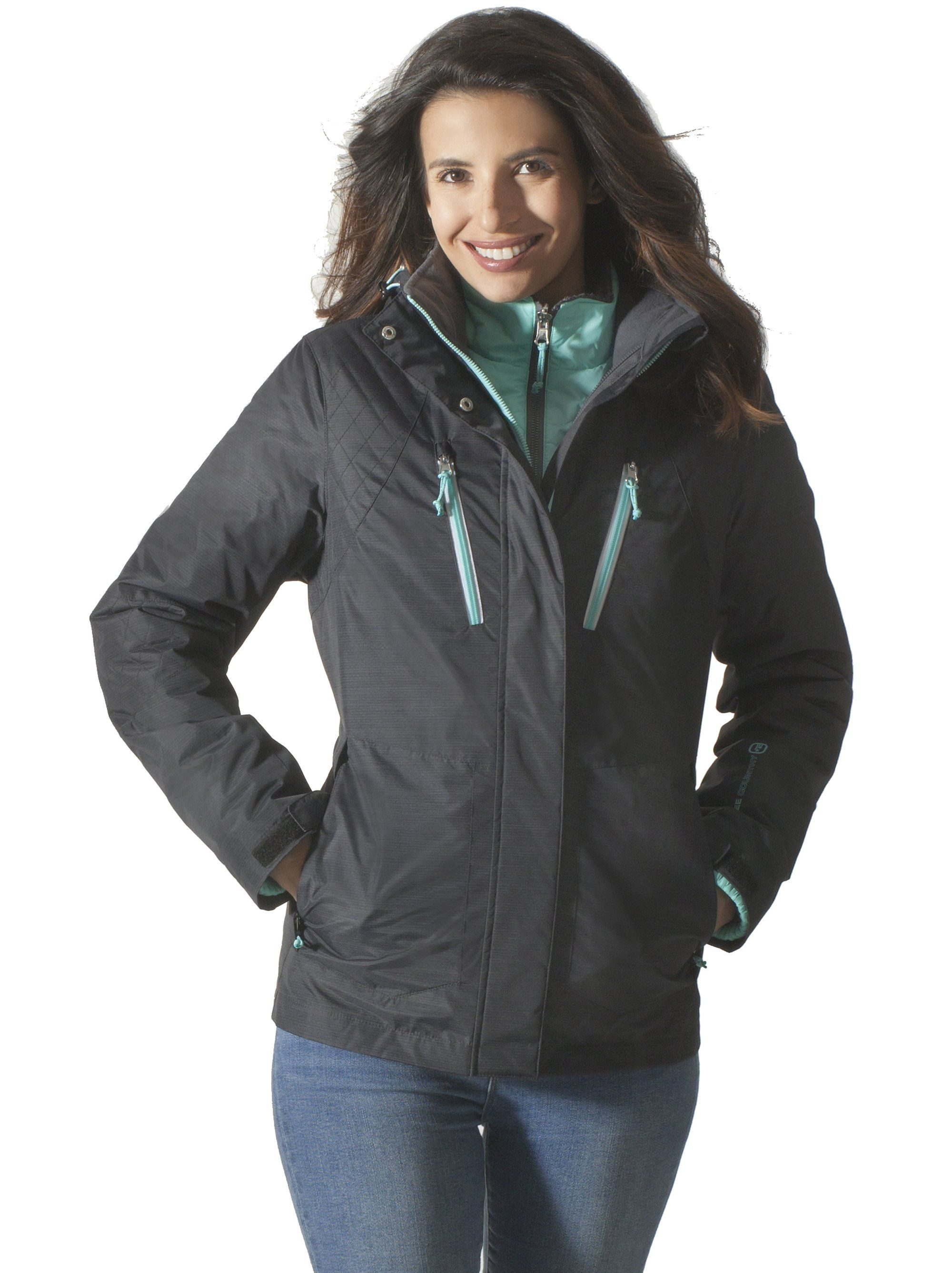 a117addda4c Women s Plus Size Plethora 3-in-1 Systems Jacket