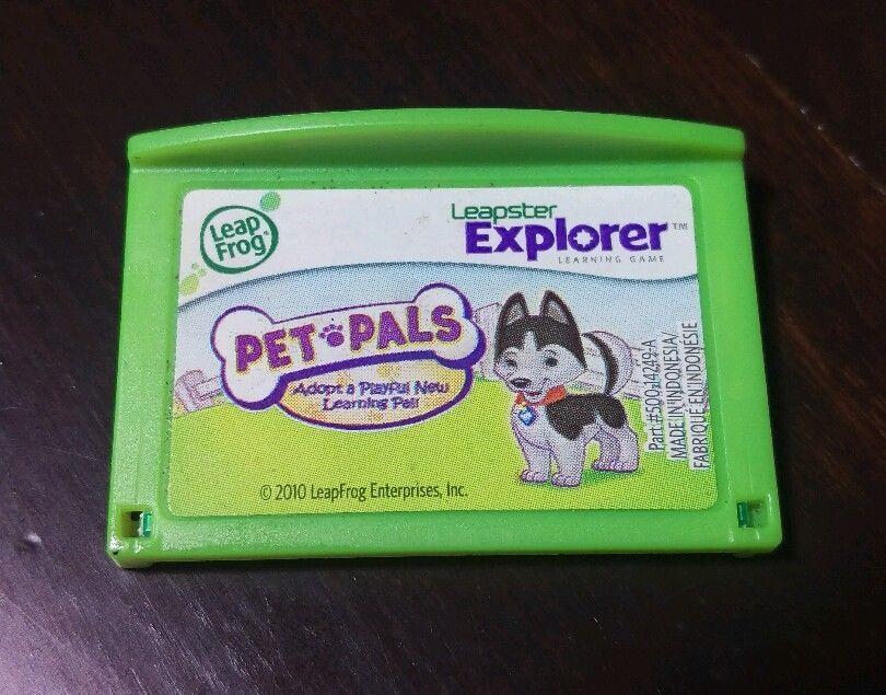 LeapFrog Leapster Explorer Game Cartridges & Books | eBay
