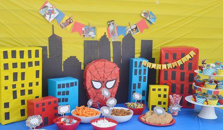 DIY Spiderman Birthday Party Free Spiderman Food Label Printables
