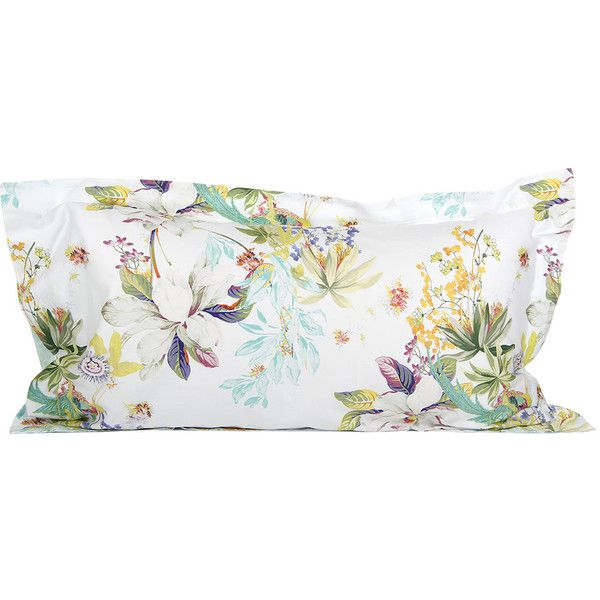 Yves Delorme Ailleurs Pillowcase Multi 50x90cm Floral Pillowcase Bed Linens Luxury Luxury Bedding Master Bedroom
