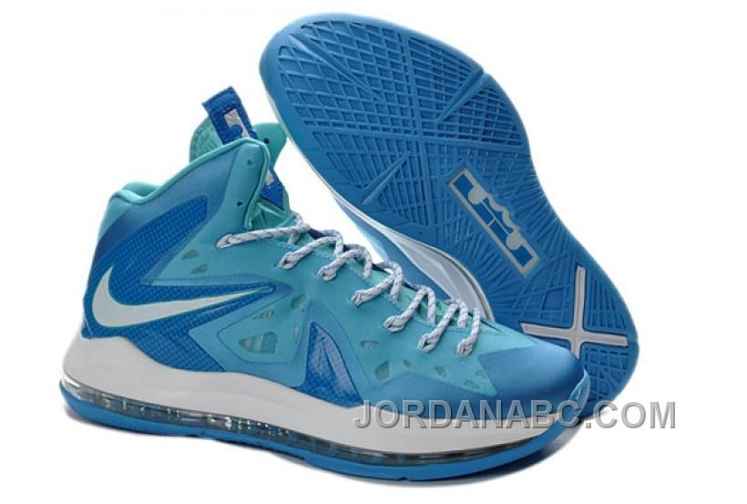 Nike LeBron 10 Elite Ice Blue/White, Price: $86.00 - Air Jordan Shoes, New  Jordans