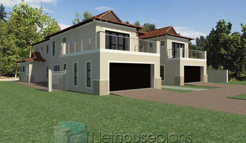 5 Bedroom House Plans Double Storey 3d In South Africa Nethouseplansnethouseplans In 2020 Bedroom House Plans 5 Bedroom House Plans Double Storey House Plans