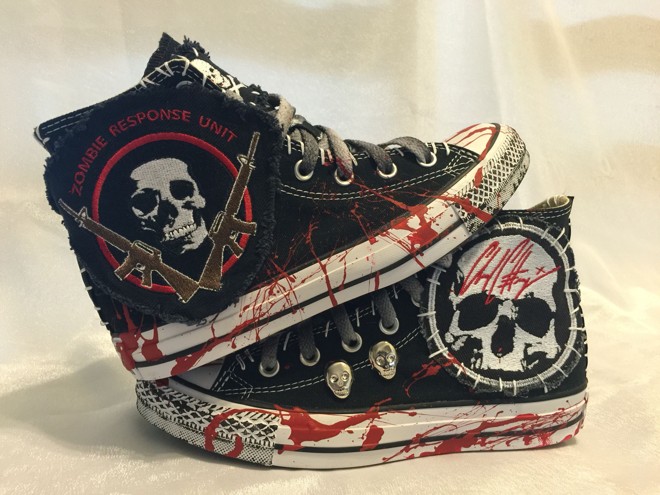zombie all star converse shoes from chadcherryclothing chad zombie all star converse shoes from chadcherryclothing