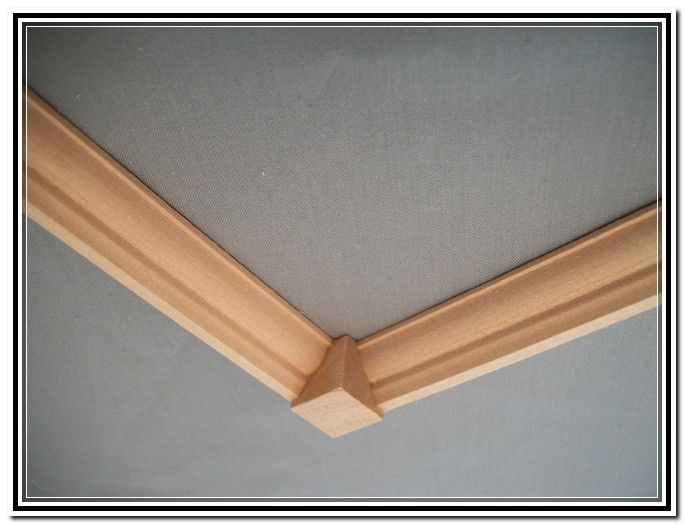 Diy Crown Molding Corner Blocks    wall treatments ...