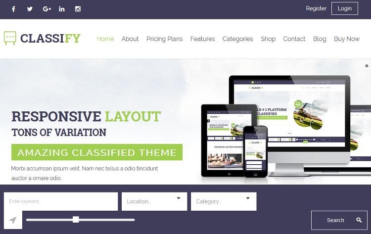 Top 5 Classified Ads WordPress Themes | Wordpress