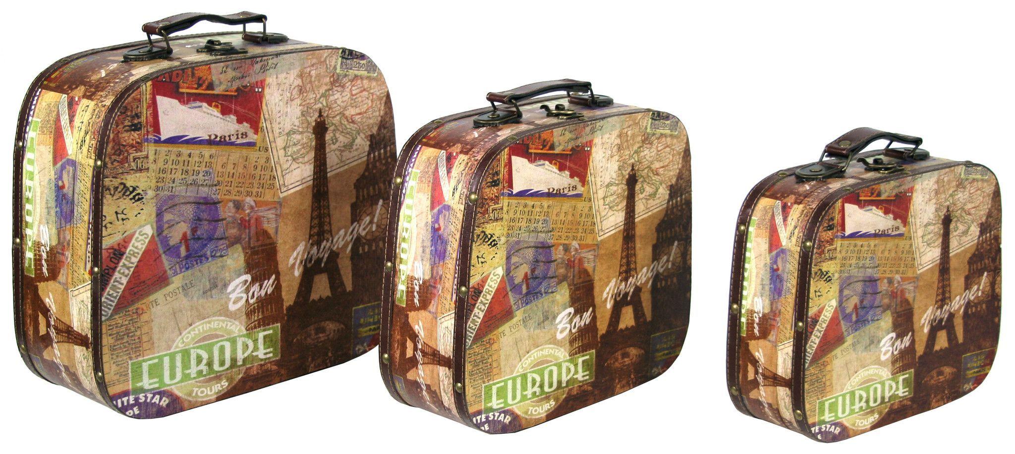 Paris Case 3Pc Set