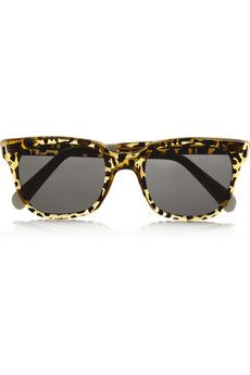 Sheriff&Cherry - D-frame acetate sunglasses