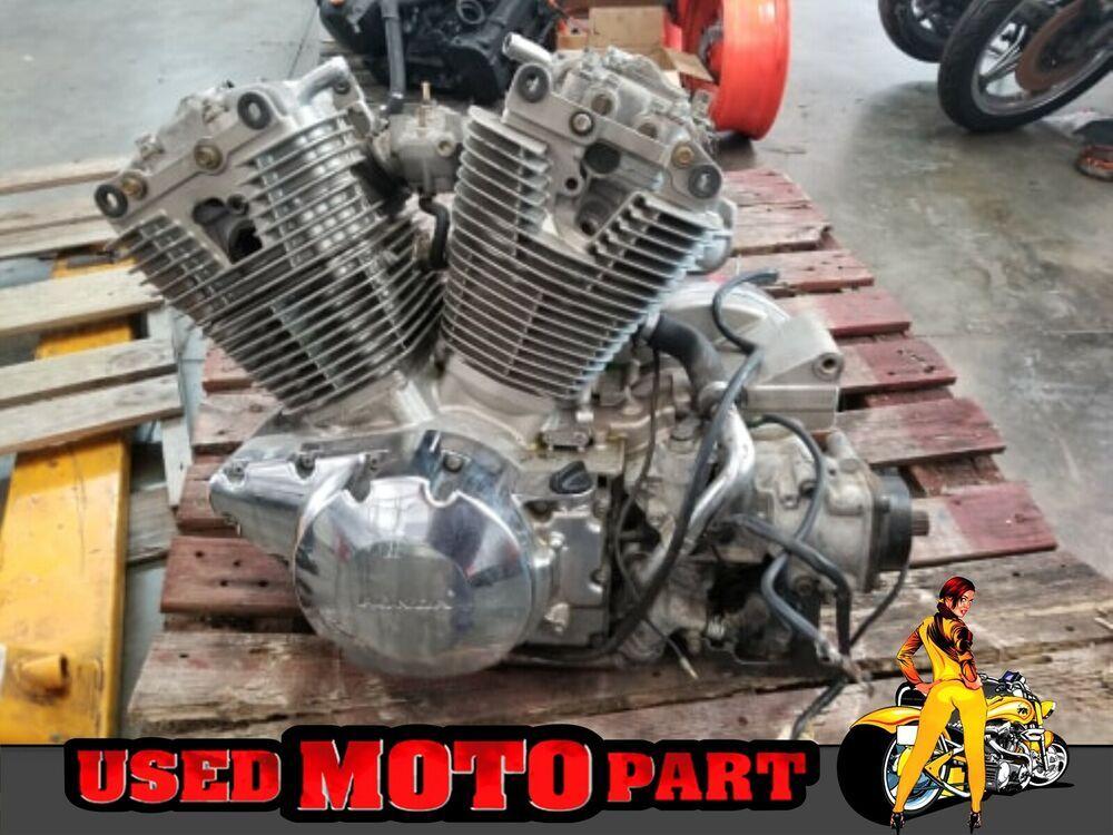 Advertisement Ebay Honda Vtx1300c Vtx 1300 Complete Engine Motor Grat Running Used Tires Motorcycle Parts And Accessories Honda