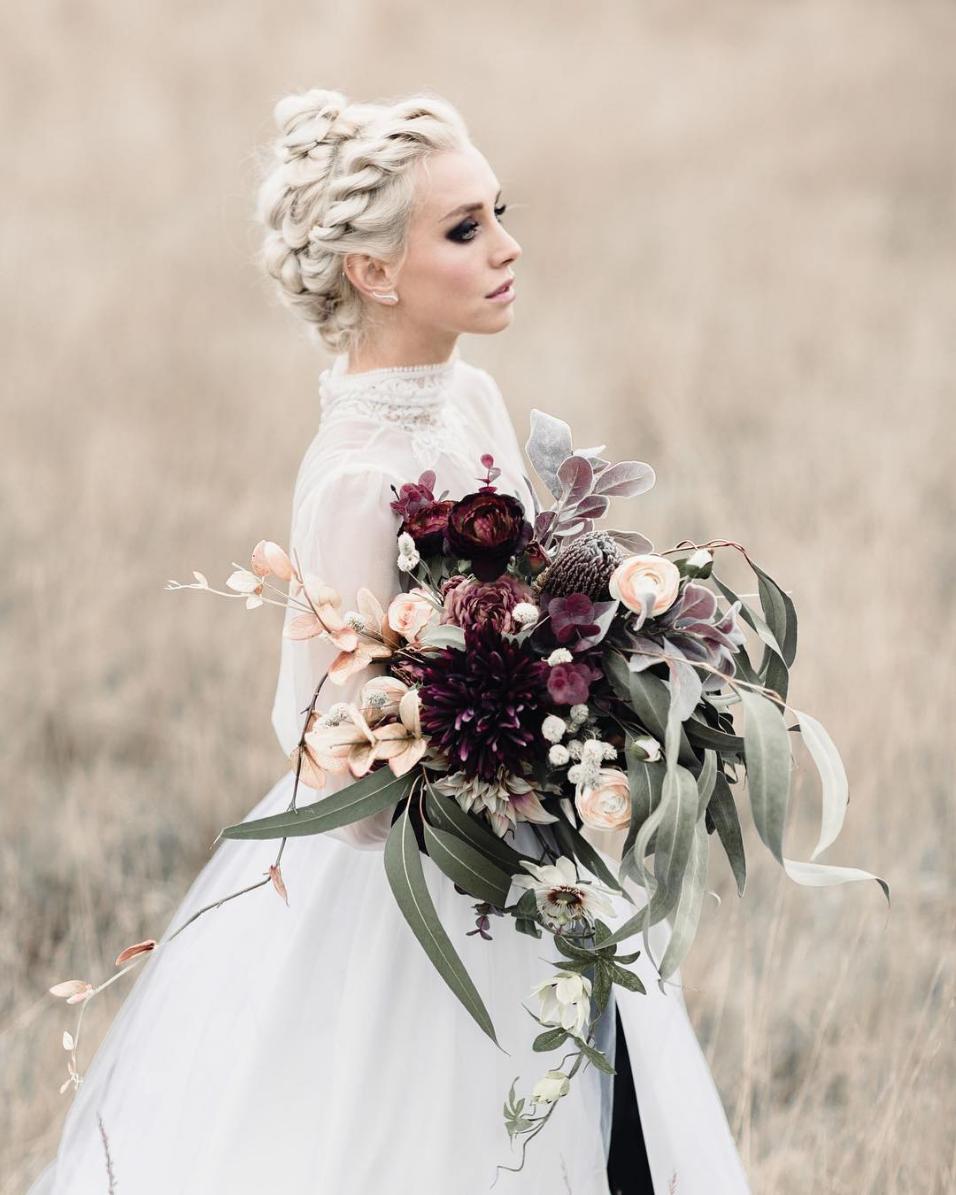 28 Braided Wedding Hairstyles For Long Hair | Braided wedding ...