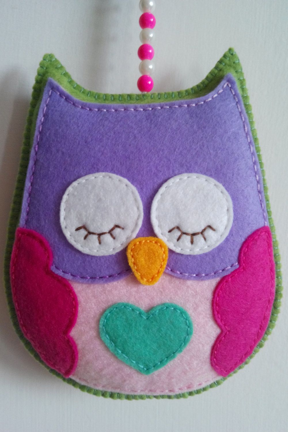 Day or night felt owl Handmade | Proyectos que intentar | Pinterest ...
