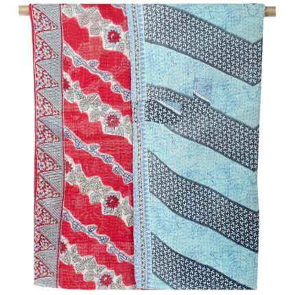 Textile Love Fair Trade Kantha Quilts Color Pattern Please Kantha Quilt Quilts Textiles